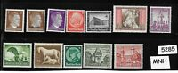 #5285     Small MNH stamp set / Adolph Hitler / WWII Germany / Third Reich era