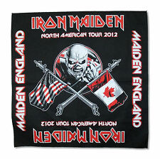 Iron Maiden North American Tour 2012 Black Bandana New Official Merch