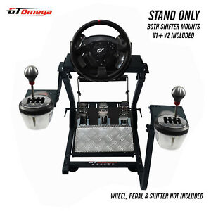 GT Omega Steering Wheel stand PRO for Thrustmaster T500RS Racing & TH8A shifter