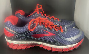 Brooks Adrenaline GTS 16 Blue/Red Men's Running Shoes Sz 13 New