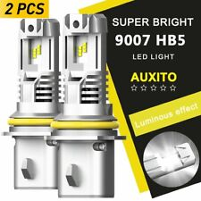 Ultra Bright 9007 LED Headlight Bulb 24000LM Hi Low Beam for Dodge Grand Caravan