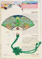 Traditional Korean reader Metal Bookmark - fan02