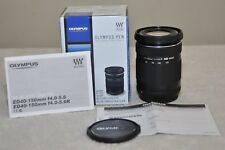 Olympus M.Zuiko 40-150mm f/4.0-5.6 R ED Lens (Black) Box - Pristine!!