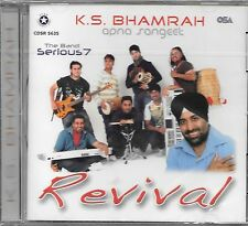 REVIVAL - K.S BHAMRAH (APNA SANGEET)  BRAND NEW BHANGRA CD - FREE UK POST