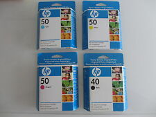 HP50 cian + YELL + Mage + Negro 51650 HP C M Y + 51640 Designjet 250c 650c nr.50