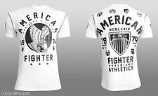 American Fighter by Affliction Fort Hays Tee Shirt White X-Large