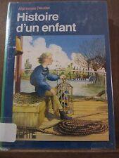 Alphonse Daudet: Histoire d'un enfant / Bibliothèque Verte, 1981