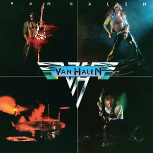 VAN HALEN First Album BANNER HUGE 4X4 Ft Fabric Poster Tapestry Flag album art