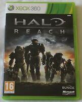 XBOX 360 Game Halo Reach PAL - Disc/Manual - Worldwide Shipping