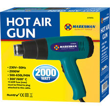 Pistola de calor de aire caliente 2000w 2Kw Pintura Pelacables Pelar Calor Shrink Heatshrink Etc