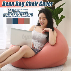 Large Bean Bag Chairs Couch Sofa Cover Indoor Lazy Lounger For Adults Kids AU !