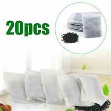 More details for 20pc activated charcoal carbon filter bags for water distillers purification
