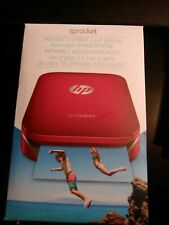 "NEW  HP Sprocket 2"" x 3"" Photo Printer RED NEW instant print"