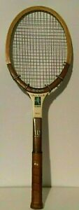 Vtg Chris Evert Autograph Wilson Speed Flex Fibre Face Leather Tennis Racquet