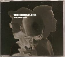 THE CHRISTIANS What's In A Word 4track GERMAN CD SINGLE