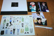 shinee key gibum kibum kimkey calendar sticker ballpen photo