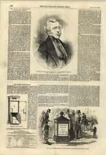 1855 New Street Letterboxes No. 1 Fleet St Farringdon St Earl Of Carlisle
