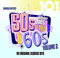 101 - Number Ones Of The 50's & 60's Vol. 2 - Various Artists (NEW 4CD)