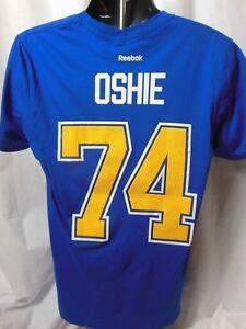 St Louis Blues Oshie # 74 Jersey Tee Shirt