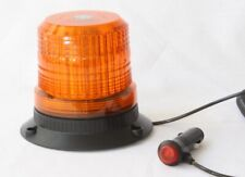LED Beacon Amber Magnetic- Safety Tractor Light 12/24V- TOP QUALITY- UK SUPPLIER