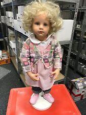 Puppe Hildegard Günzel Resin Puppe 75 cm. sehr selten