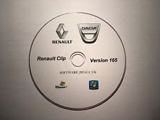 Renault Clip 165 Diagnostic Software on dvd. Latest March 2017 version.