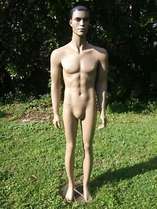 Male mannequin full body African. Black Rootstein Hindsgaul man