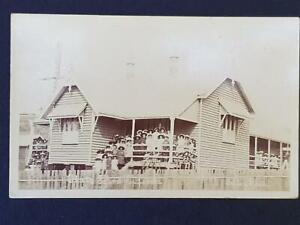 1900`s State School In Queensland Rare Photo Unknown Place Real Photo Postcard