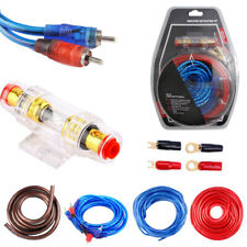 1500W Cable Car Audio Kit Amp Amplifier RCA Sub Woofer Wiring Wire Set