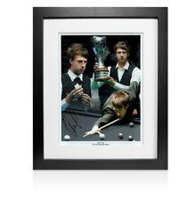 More details for framed judd trump signed photo - 2011 uk championship winner montage