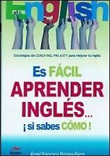 Es facil aprender inglés...si sabes como!. ENVÍO URGENTE (ESPAÑA)