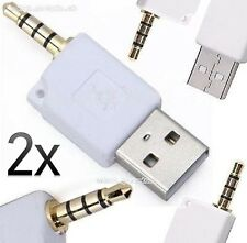 3.5mm to USB Adapter MP3/MP4 Player - Cowon iAudio/Philips GOGEAR/ARCHOS Jukebox