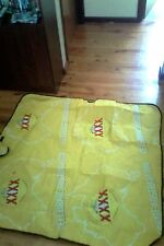 xxxx - australia day picnic mat -rolls up for storage