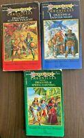 DragonLance Chronicles Trilogy 1st Edition PB 1984-85 TSR Vol 1-3 Complete Set V