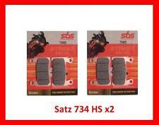 KR SBS734HS x2  Bremsbeläge Honda CBR 900, SC33, SC44, SC50 Fireblade Brake pads