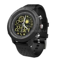 NX02 Sport Watch Smart Bracelet Fitness Tracker Monitor Casual Wrist Band T4S4