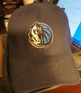 RARE NBA Licensed NIKE Dallas Mavericks Navy Blue Hat FlexFit