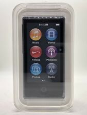 Apple iPod Nano 7. Generation Slate Black Schwarz 16GB NEU NEW