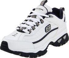 Skechers Sport Men's Energy Afterburn Lace-Up Sneaker White/Navy 10 XW US N