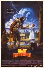 THE GIANT OF THUNDER MOUNTAIN Movie POSTER 27x40 Cloris Leachman Richard Kiel