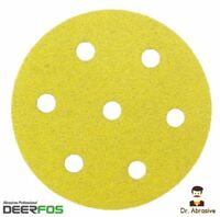 90mm Sanding Discs Sandpaper Pads DEERFOS for Festool Rotex RO 90 DX