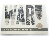 2014 First World War 100th Anniv Outbreak Kitchener £2 Two Pound Coin Folder