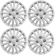 "Peugeot 107 14"" Lightning White Universal Car Wheel Trim Covers"