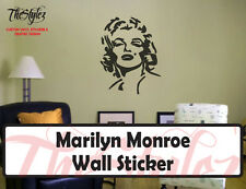 Marilyn Monroe Custom Wall Vinyl Sticker