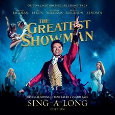 The Greatest Showman:CD Deluxe Sing-a-Long edition  CD- hard book