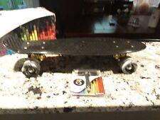 Skatro Mini Cruiser Skateboard 22�x6� Retro Plastic Penny Style Board Black