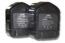 2x BATTERIA VHBW 3300mAh PER Hitachi EB1214L, EB1214S, EB1220BL, EB1220HL