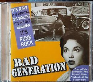 """v/a - """"BAD GENERATION"""" - CDLP - Rhythm Collision, Astream, Bolweevils"""