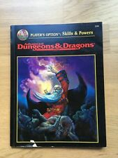 Player's Option : Skills & Powers - AD&D 2nd Edition
