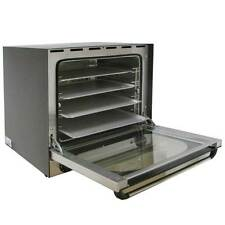 More details for convection oven electric commercial baking stainless steel free 4 baking trays